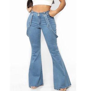 Fashion Nova Saved by the Bell Bottom Jeans